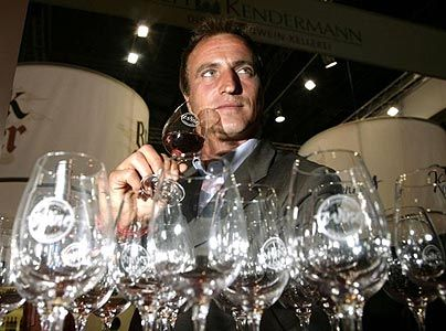David Ginola has won medals for his own wine!