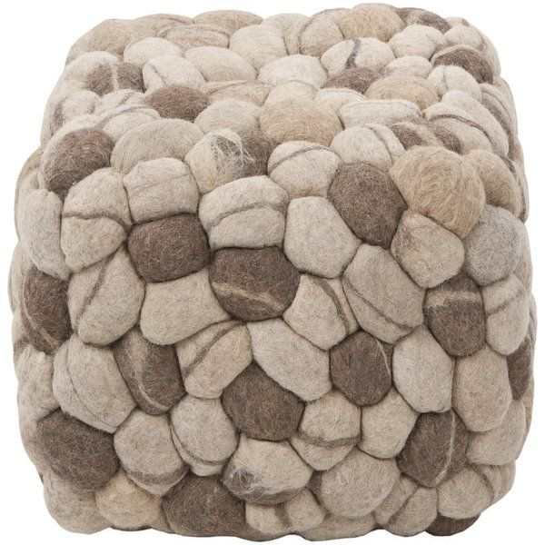 Add a touch of elegance to your decor with the Cube Ottoman. It is available in many colors that you can choose from. The contemporary ottoman is completely made from wool that makes it soft and durable. It has a square structure and is made from non-toxic material that makes it safe for use. This stylishly designed ottoman is perfect for seating and it can be used in the living room, family room, or in the den for extra seating. This Cube Ottoman from  can be wiped clean with a cloth…