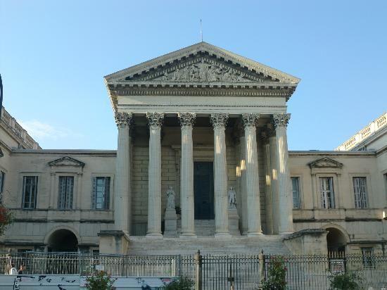 Montpellier, France : palatto giustizia