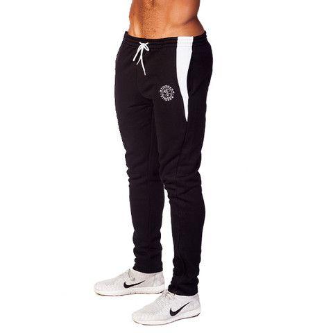 GymShark Fit Tapered Bottoms - Black All men's wear   GymShark   Innovation In Fitness Wear http://www.uksportsoutdoors.com/product/puma-513782-lightweight-mens-singlet/