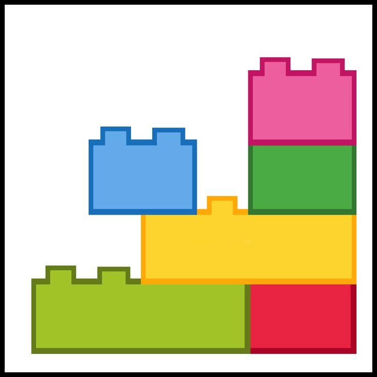 Kaartjes kiesbord - Lego - Duplo