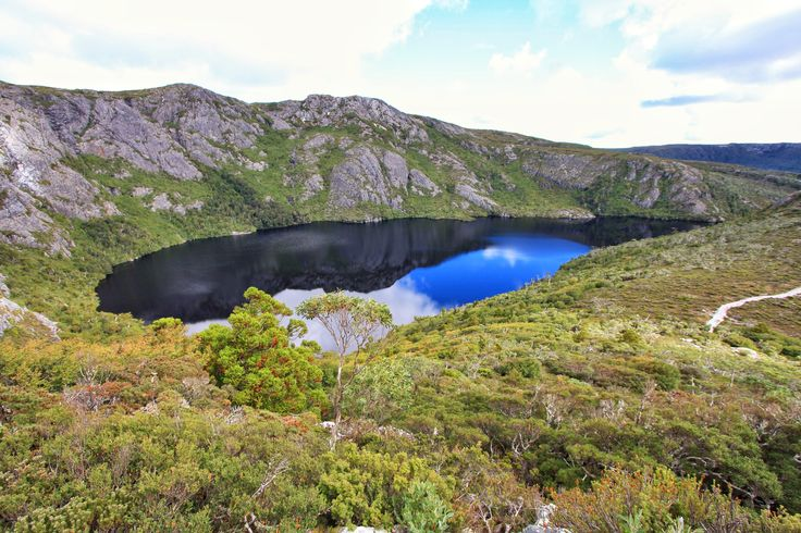 Crater Lake. The Overland Track Tasmania. This is why I love hiking!