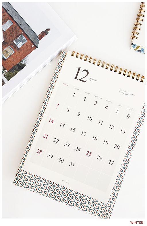MochiThings.com: 2014 Pattern Desk Calendar