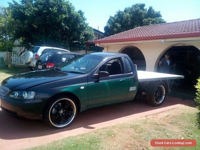 Car For Sale 2005 Ford Falcon Tray Back Ute Ba Mkii With