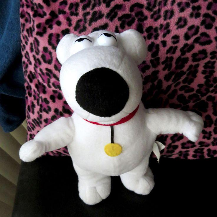 "Rare Promo 2004 Brian Griffin Family Guy TV Show Plush Doll 12"" Tall Fox #Nanco"