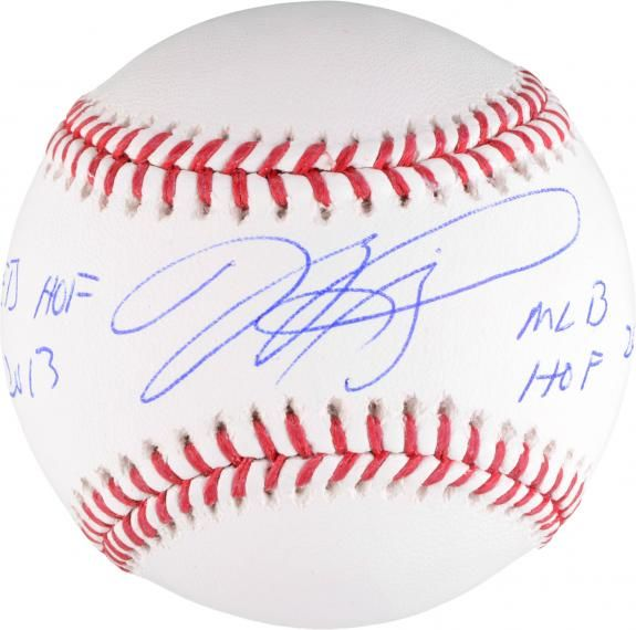 Mike Piazza New York Mets Autographed Baseball With Dual Inscriptions Authentic Signed Mike Piazza New York Mets