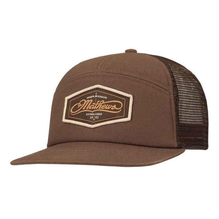 Mathews Archery Coastal Trucker Cap
