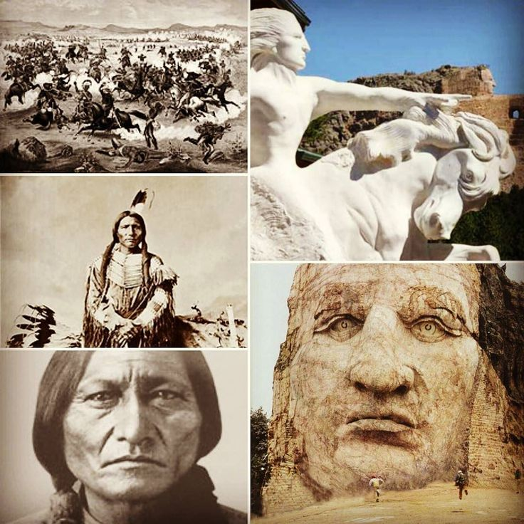 """05 de Setembro de 1877  Cavalo Louco ( """"Ta-sunko-witko"""": """"Seu cavalo é louco"""" em Dacota) líder militar do grupo ameríndio Sioux - ou Dacota é morto quando era prisioneiro atravessado por uma baioneta de um dos guardas do Camp Robinson depois de uma suposta tentativa de fuga. Lutando desde a década de 1860 para preservar suas terras tradições e vidas Cavalo Louco foi um dos líderes da batalha de Little Bighorn em 1876 que marcou a derrota do sétimo regimento da cavalaria do exército nas…"""