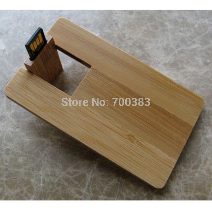 5 PCS USB2.0 No logo Business wood card USB Memory Stick The wooden Card Capacity Enough U Disk USB Flash Disk USB Flash Drive #Affiliate