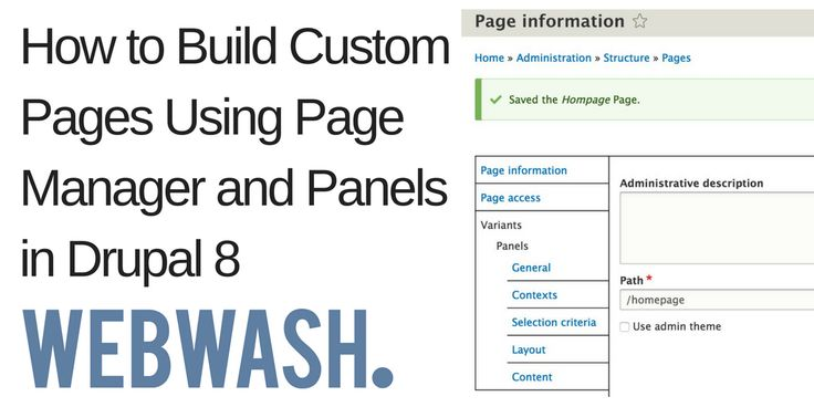 Panels has always been my go-to module when it comes to building custom pages in Drupal 7.  Now in Drupal 8 things have changed.  A lot of what Panels did in Drupal 7 has been moved over to Page Manager. Panels itself doesn't offer a user interface and it is just a variant type in Drupal 8. Also, Page Manager is now its own project, whereas, in Drupal 7 it was part of the Ctools module.  Panels in Drupal 8 integrates with Page Manager and offers a custom variant type which allows you to s...