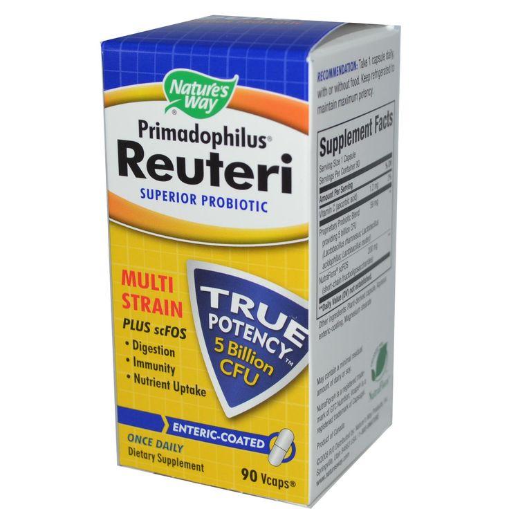 Nature's Way, Primadophilus Reuteri, Superior Probiotic