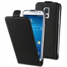 Forro Samsung Galaxy S5 mini Muvit Slim Negra + Protector Pantalla $ 43.600,00