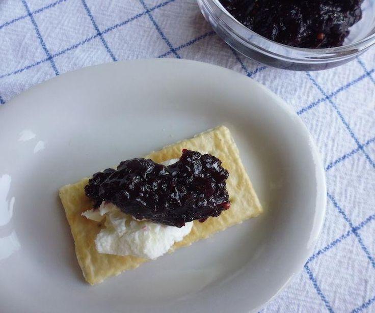 Blackcurrant chutney @ http://allrecipes.co.uk