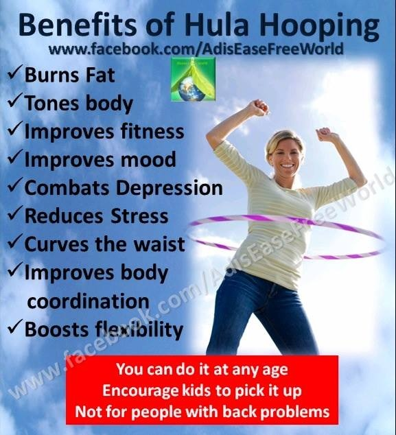 Health Benefits of Hula Hoop Workout