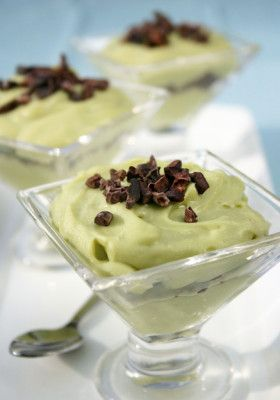 Cool and Creamy Mint-Chip Mousse from our blog -- Yes, this counts as a healthy fat on Phase 3! (And it takes about 5 minutes in the blender. AND it tastes like chocolate chip mint ice cream!)