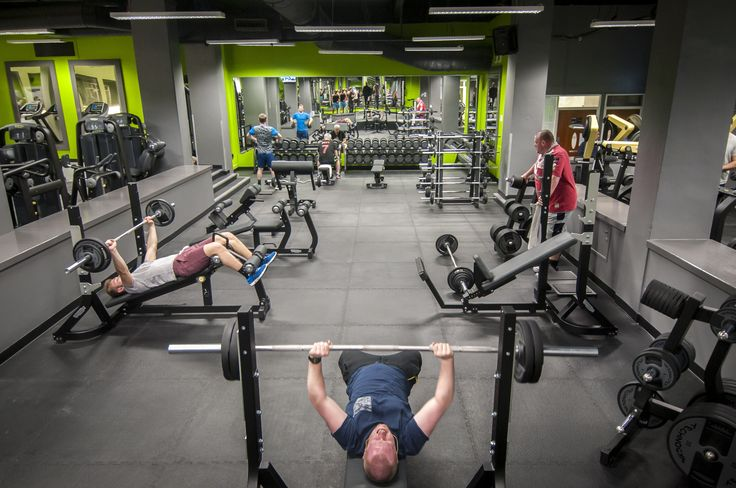 Free Weights area at Bannatyne's Health Club Manchester Quay Street