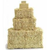 Due to their small size, these golden straw bales are just right for country displays or as centerpieces on your harvest or country table. Decorate for western parties, country-themed celebrations, anniversaries, weddings and more; let your imagination run wild.