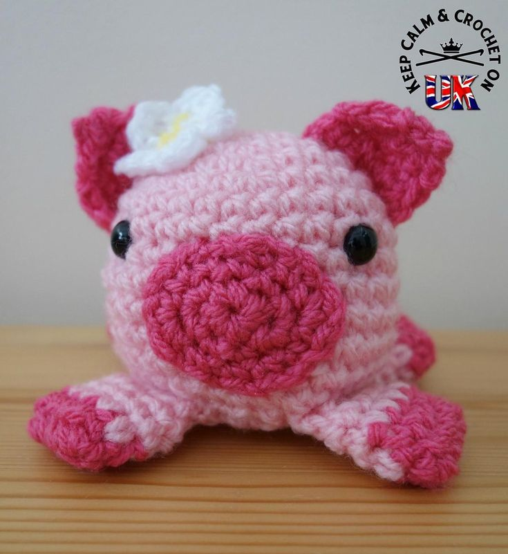 181 besten Crochet Piggy Pigs Bilder auf Pinterest | Babyhäkelei ...