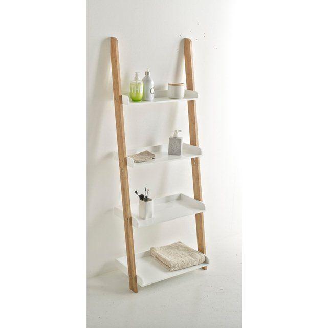 andere afbeeldingen Etagère voor badkamer in ladder model, bamboe, LINDUS. La Redoute Interieurs