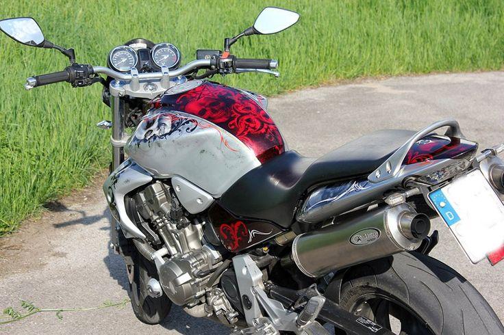 Honda Hornet Candy and Skulls