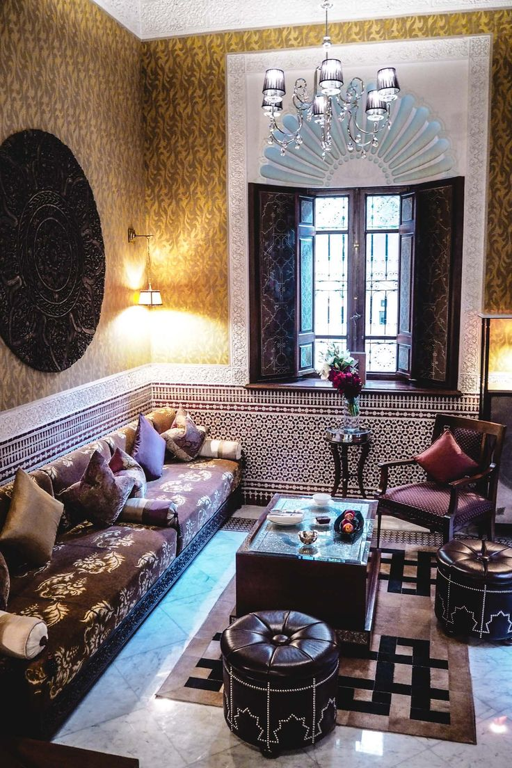 The Royal Mansour Marrakech Morocco, Riad lounge area, luxury hotels