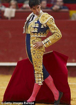 bullfighter | Spanish bullfighter Cayetano Rivera performs during a bullfight at the ...