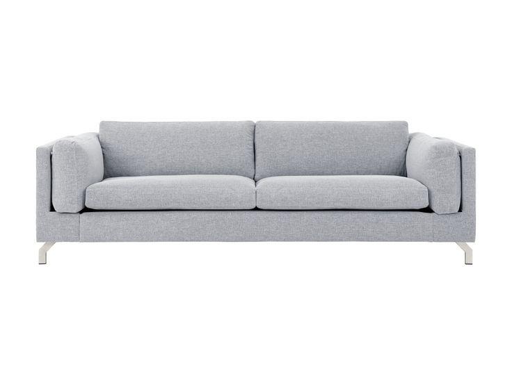 FLORIDA 3-sits Soffa Grå i gruppen Inomhus / Soffor / 2-4-sits soffor hos Furniturebox (110-92-117494)