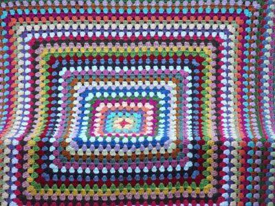 Easy Crochet Pattern: Granny Square Afghan Tutorial