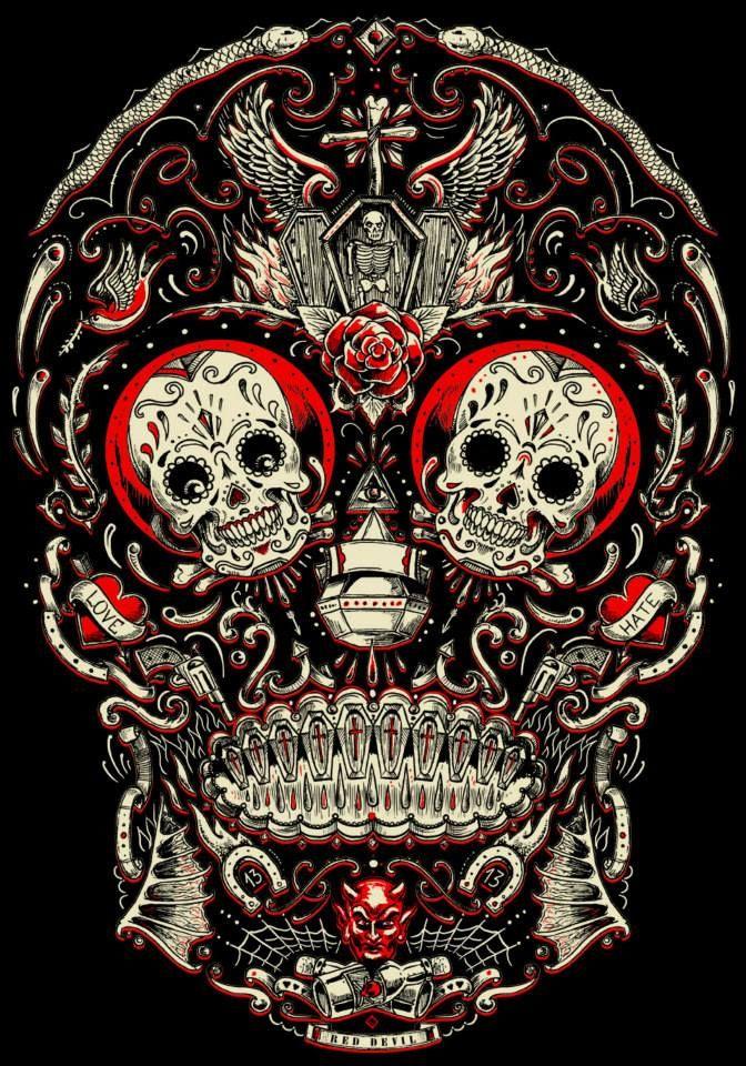 Xcellent sugar skull