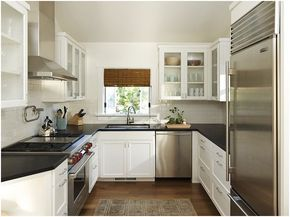 What Are You Going To Do In A Modern Small Kitchen Designu2014 Take Out The  Stove Or Fridge? Many A Chic Big City Dwelling Is Equipped With A Modern  Small ... Part 55