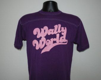 80's Wally World Rare Vintage National Lampoon's Vacation Movie Jersey Style T-Shirt