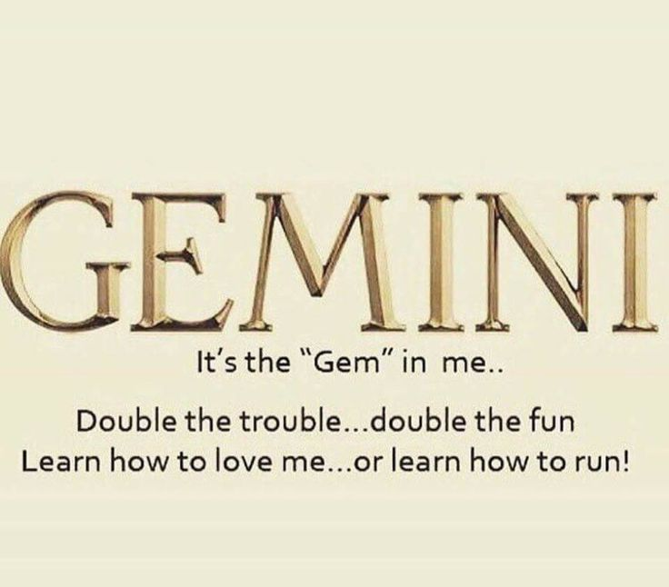 It's the GEM in me...