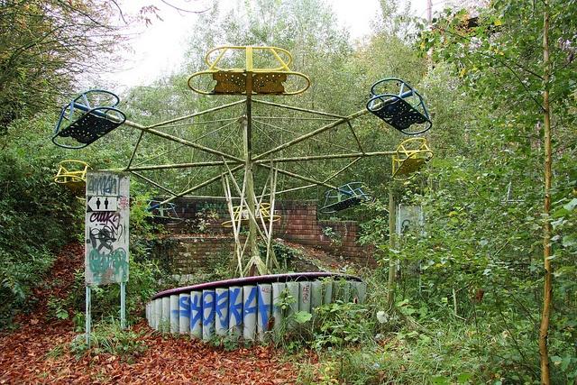 Dadipark, Belgium by sensaos, via Flickr Abandoned