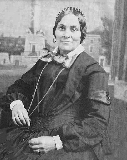 Elizabeth Keckley (February 1818 – May 1907) bought her freedom and rose to become Mary Todd Lincoln's dress designer and personal confidant.