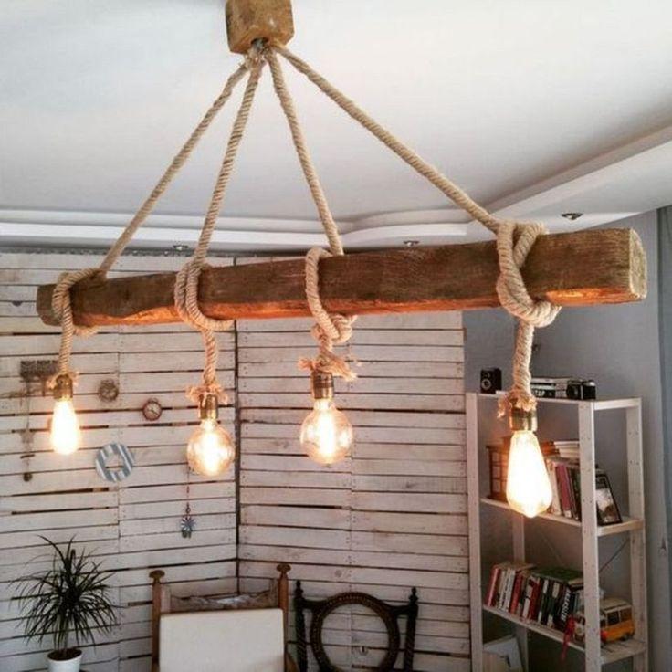 47 Coole Rustikale Holzlampen Design Ideen Decorke Com Coole Decorke Design Holzlampen Ideen Rusti Wooden Lamps Design Wooden Lamp Rustic Lighting