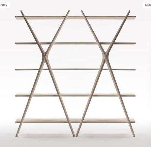 Original Design Shelf / In Wood CROSS By Carlo Contin Meritalia