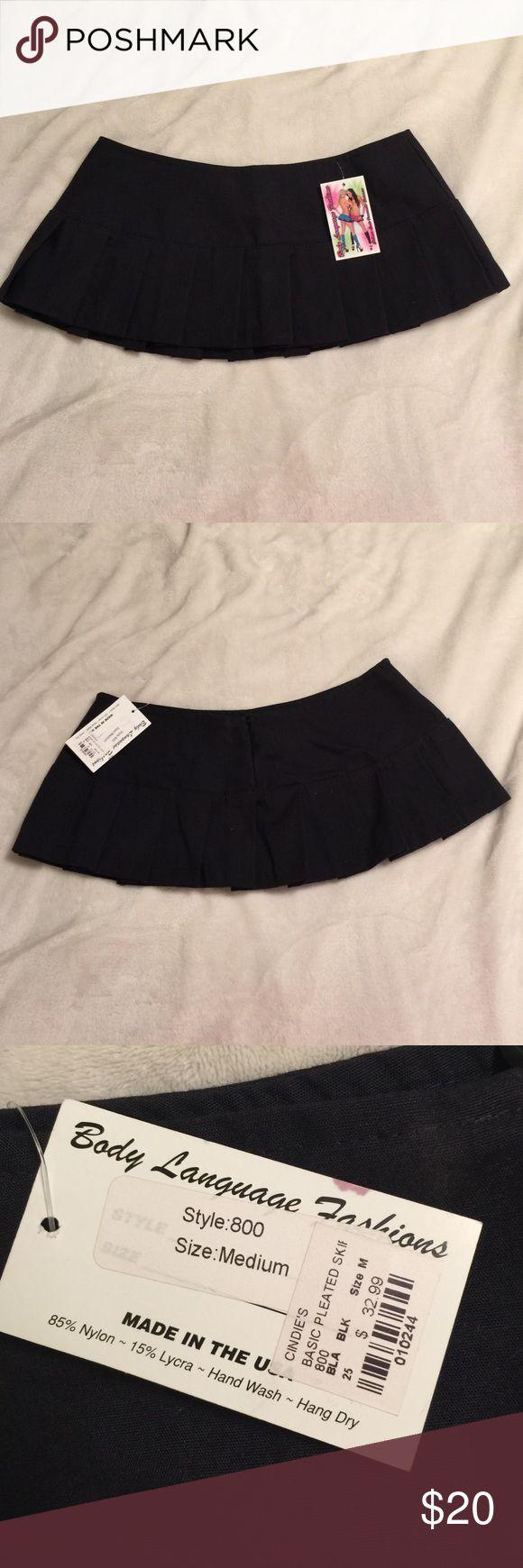 Black micro mini skirt Nwt Skirts Mini