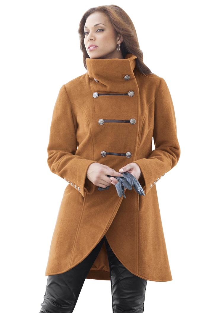 Plus Size Fashion | Women's Clothing in Plus Sizes - Jessica London - 121 Best Plus Size Coats Images On Pinterest