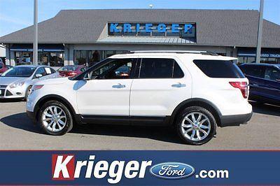 2014 Ford Explorer XLT 2014 Ford Explorer XLT 68409 Miles White Platinum Metallic Tri-Coat Sport Utilit