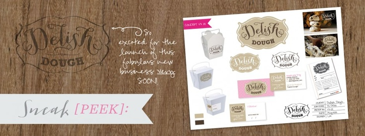 Sneak Peek :: Delish Dough ::  KRUSH Design | Brand | Market