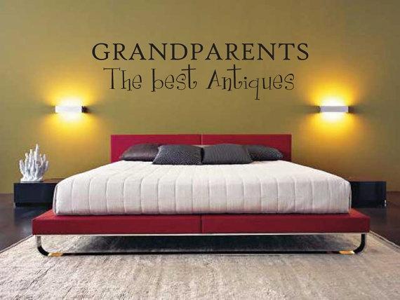 Vinyl Saying - Vinyl Lettering - Wall Writing Grandparents Vinyl Decal Vinyl Lettering by thatsalowprice10, $5.99