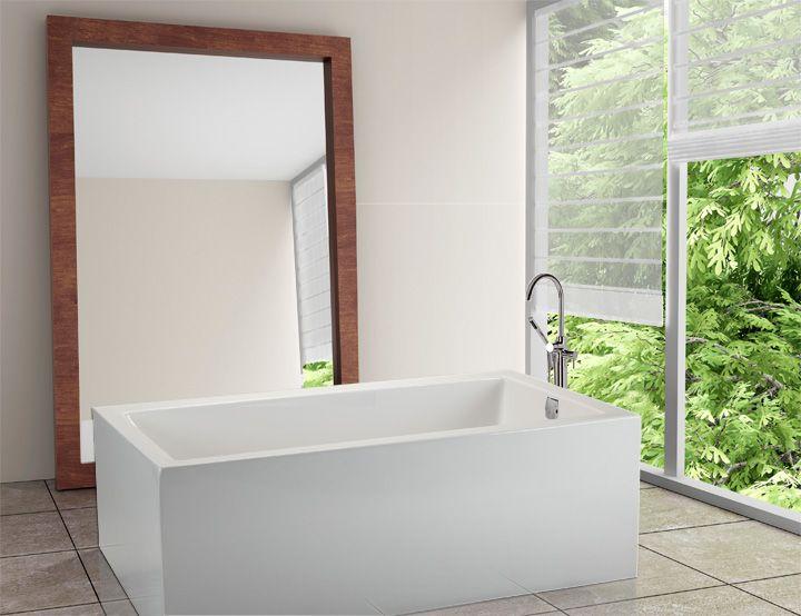 #forestbathroom  MTI Andrea 6A Sculpted - 60x32 soaker.