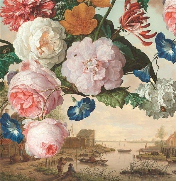Eijffinger Masterpiece Scenery 358110 Bij Behangwebshop Floral WallpapersWallpaper