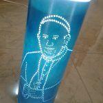 Lampade artigianali personalizzate in PVC