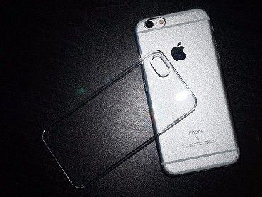 Čirý plastový kryt pro iPhone