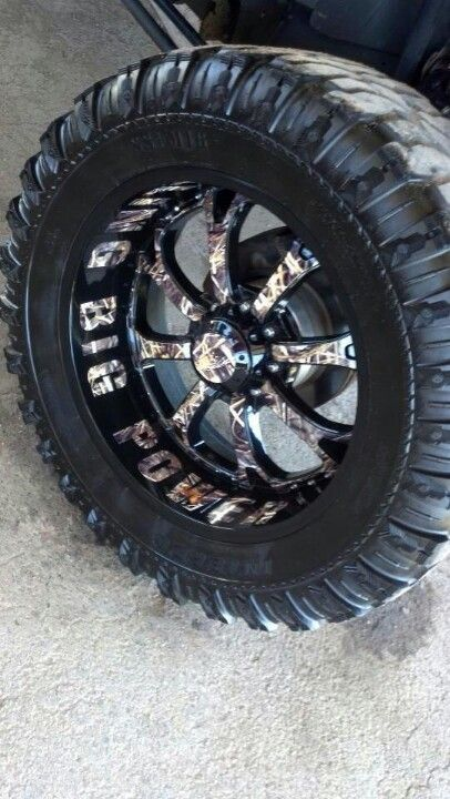 RBP camo rims!!! So getting these when I get my truck!