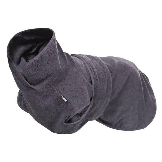 Rukka Soft koiran kylpytakki, grafiitti - Pyyhkeet ja kylpytakit - 108027 - 1