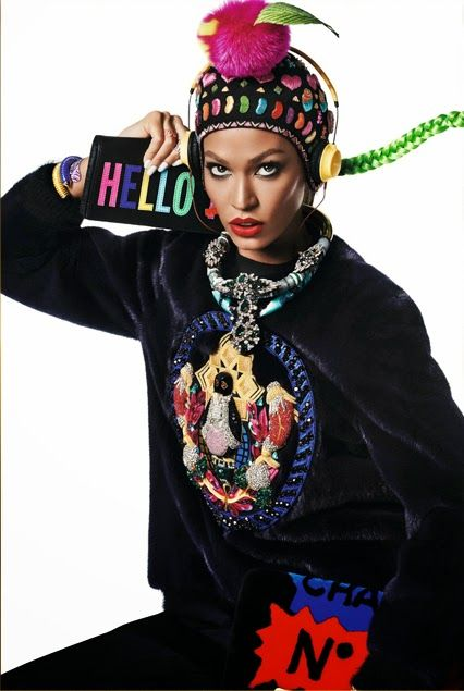 Joan Smalls photographed by Giampaolo Sgura for Vogue Japan December 2014 #minimode www.mini-mode.com