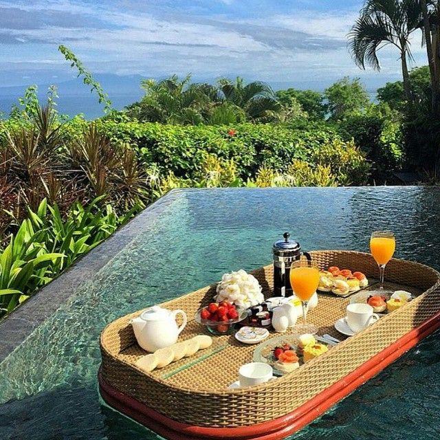 Good Morning Sunshine ♥ Floating Sunday Brunch In Paradise