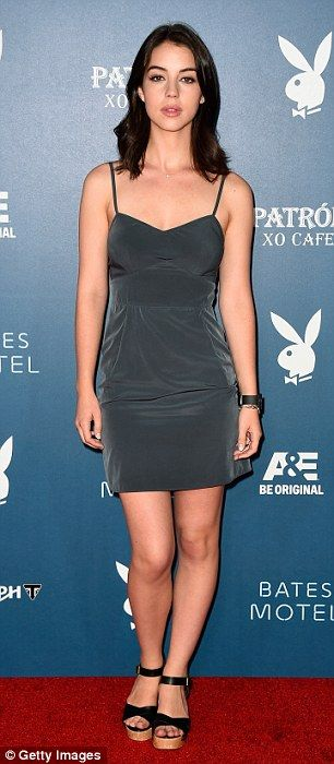 Monochromatic: Both Jamie Murray and Adelaide Kane chose to wear singular colours at the event